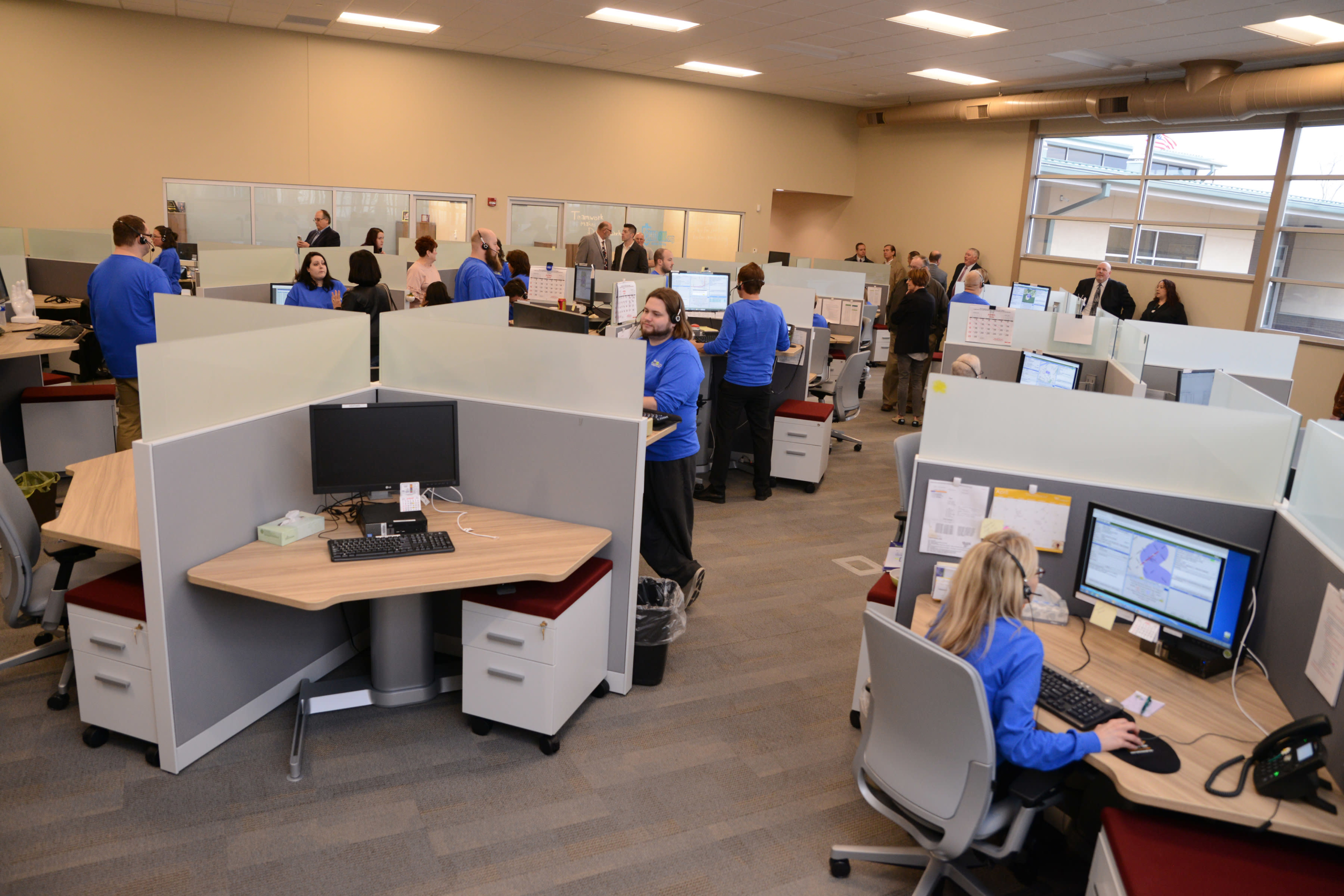 OHIO811's call center