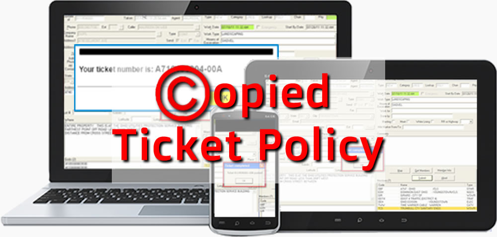 Learn the OHIO811 Copied Ticket Process