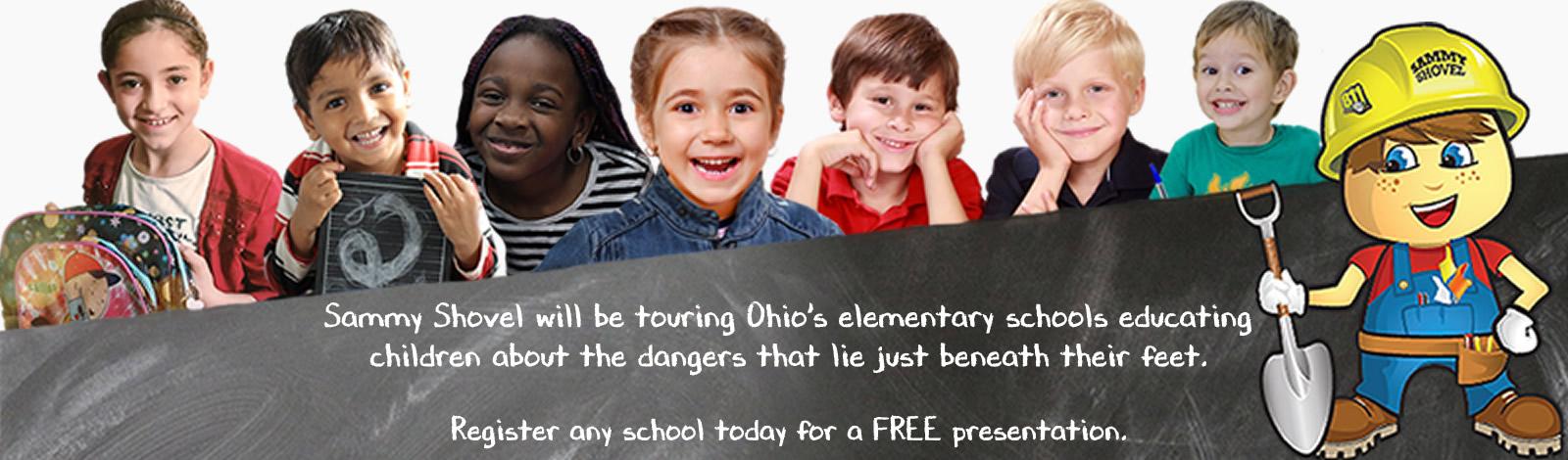 Let Sammy Shovel come visit your school