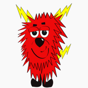 My name is Sparky the Electric Puppy and I represent electric lines