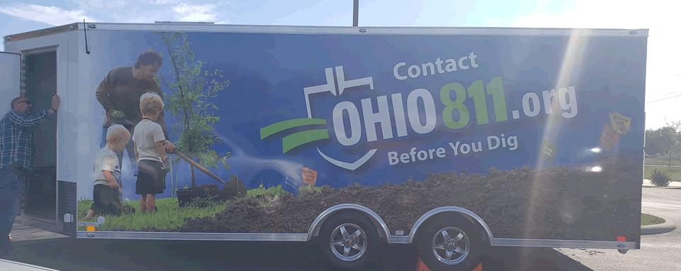 OHIO811 Interactive Educational Trailer