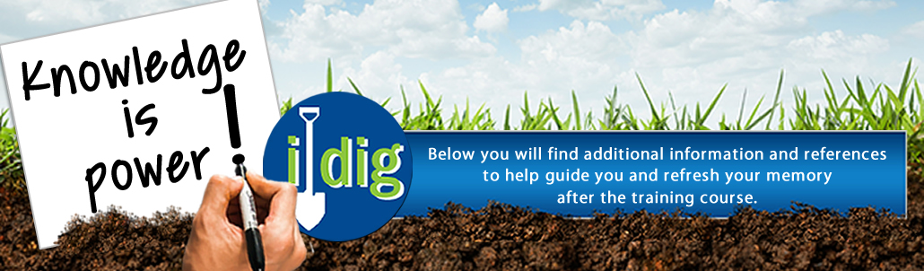 i-dig Additional Resources and Advanced Training Videos